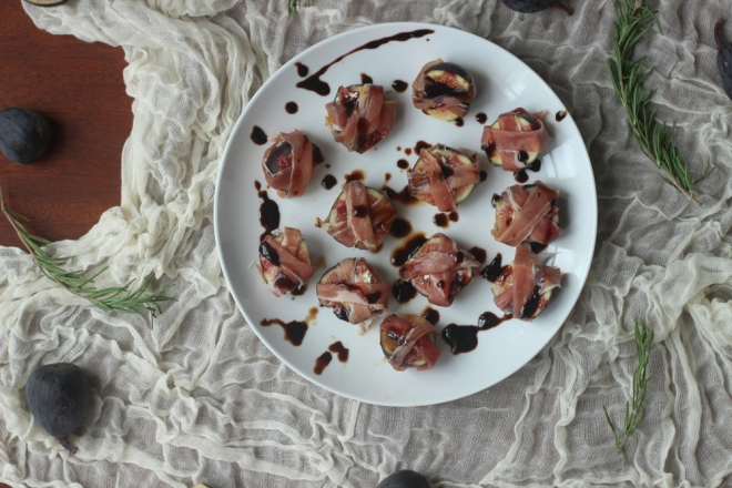 Proscuitto Wrapped Figs