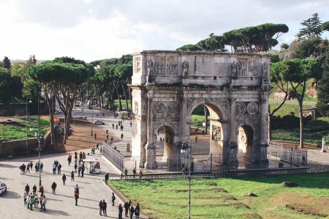 Arch of Constantine / © 2014 Amy Amato