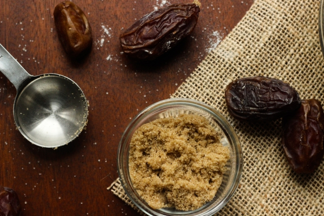 Date Cake Ingredients / © 2014 Amy Amato